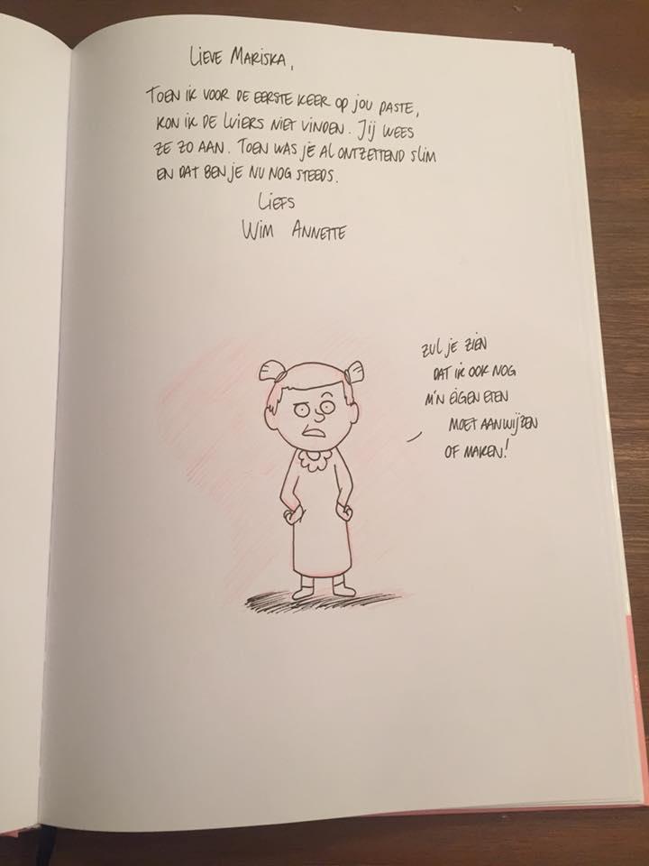 Gastenboek tekening 1