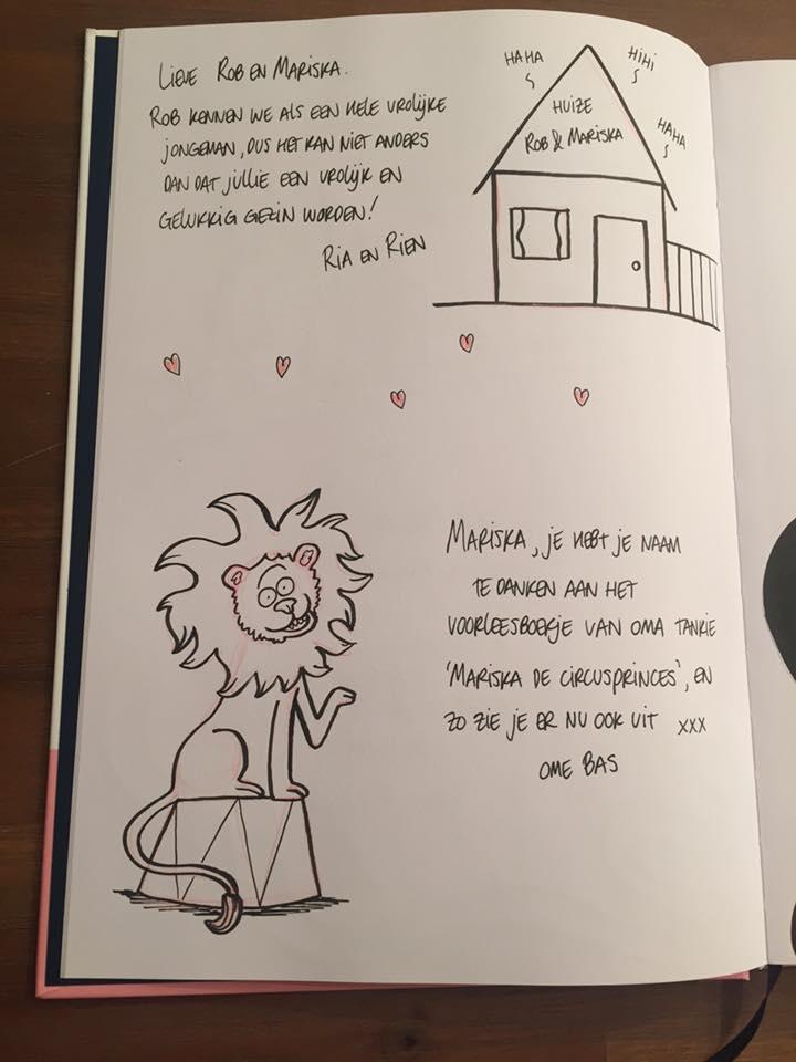 Gastenboek tekening 3